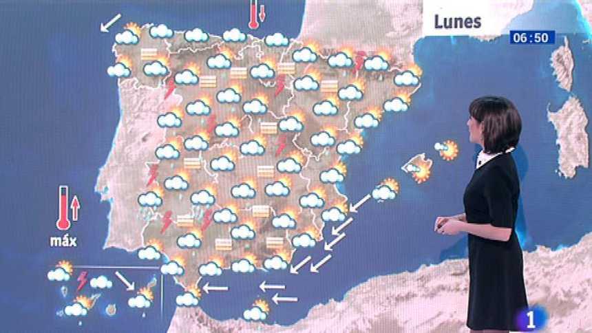 Descenso de las temperaturas y regreso de la calima a la Península