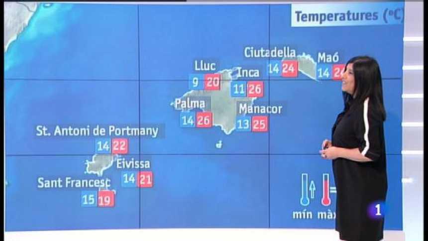 El temps a les Illes Balears - 23/04/18