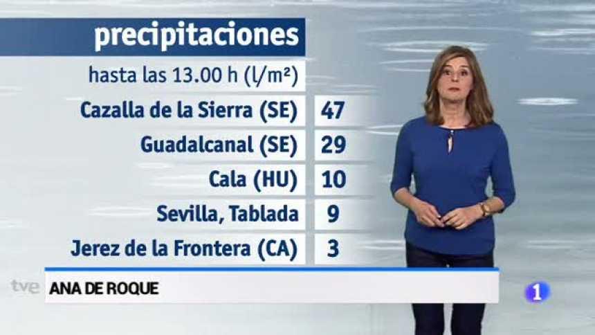 El tiempo de Andalucía - 23/04/18