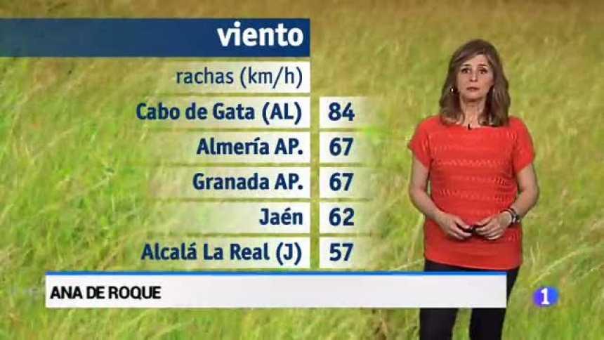 El tiempo en Andalucía - 24/04/18