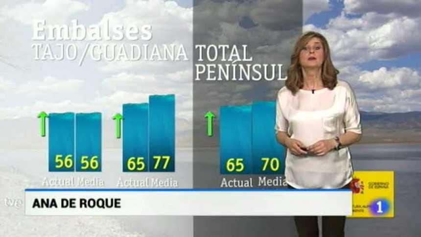 El tiempo en Extremadura - 25/04/18