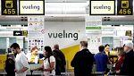 Primera jornada de huelga de los pilotos de Vueling, que reclaman mejoras laborales