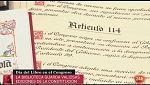 Parlamento - Conoce el parlamento - Firmas y constituciones en la biblioteca del Congreso - 28/04/2018