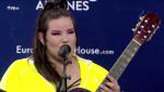 """Eurovisión 2018: Netta de Israel canta """"Toy"""" en acústico delante de la prensa"""