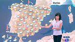Este martes habrá chubascos fuertes en el interior este peninsular y en Mallorca