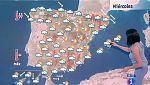 Este miércoles persisten las tormentas en el este y Baleares con temperaturas al alza