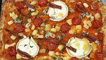 Torres en la cocina - Pizza de quesos