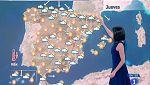 Este jueves habrá tormentas fuertes en Cataluña y en el interior del sur peninsular