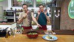 Torres en la cocina - Parmentier con espárragos y cazuelita de rape