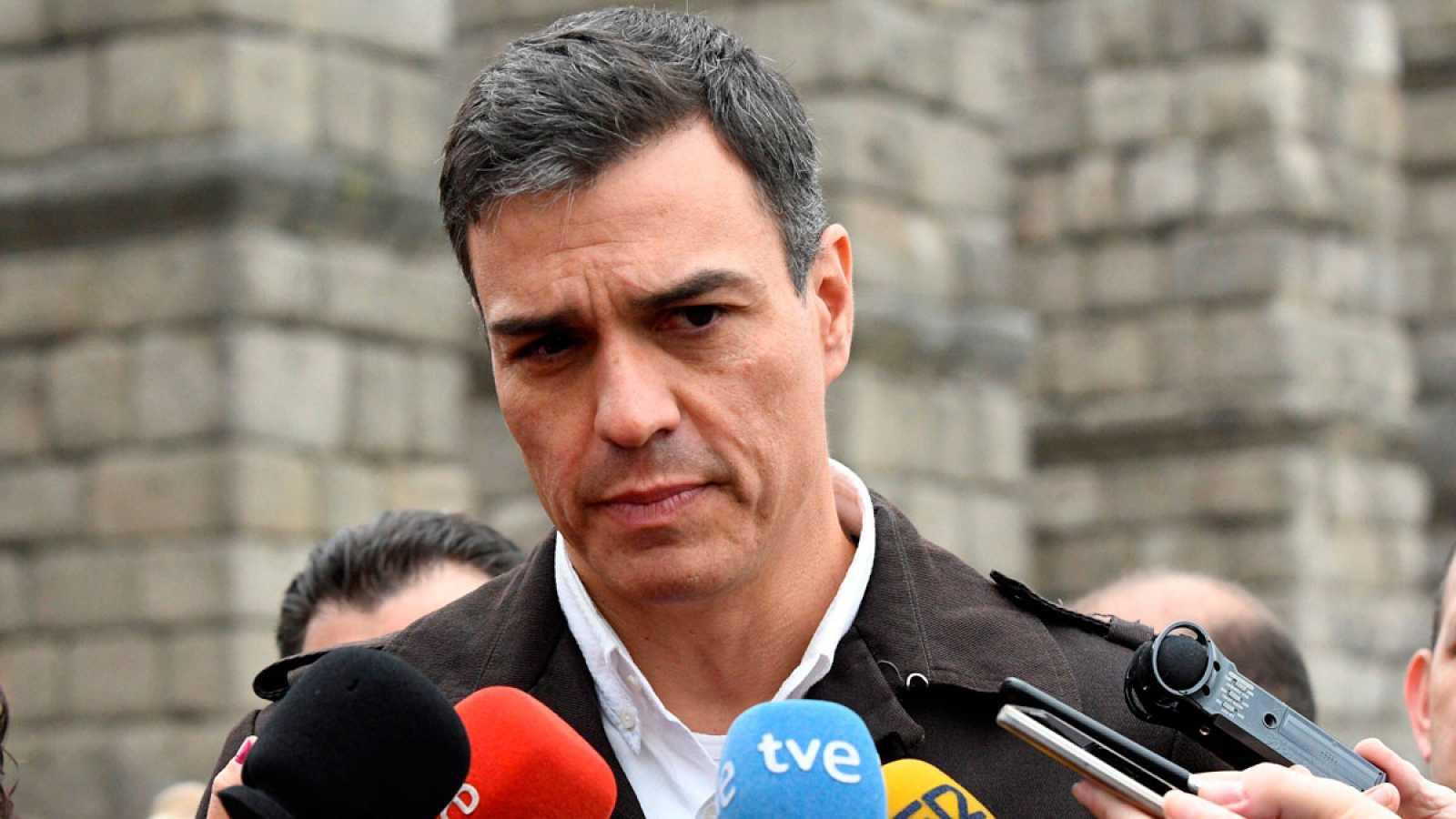 "Pedro Sánchez pide a Torra que no ahonde en la ""fractura social"""