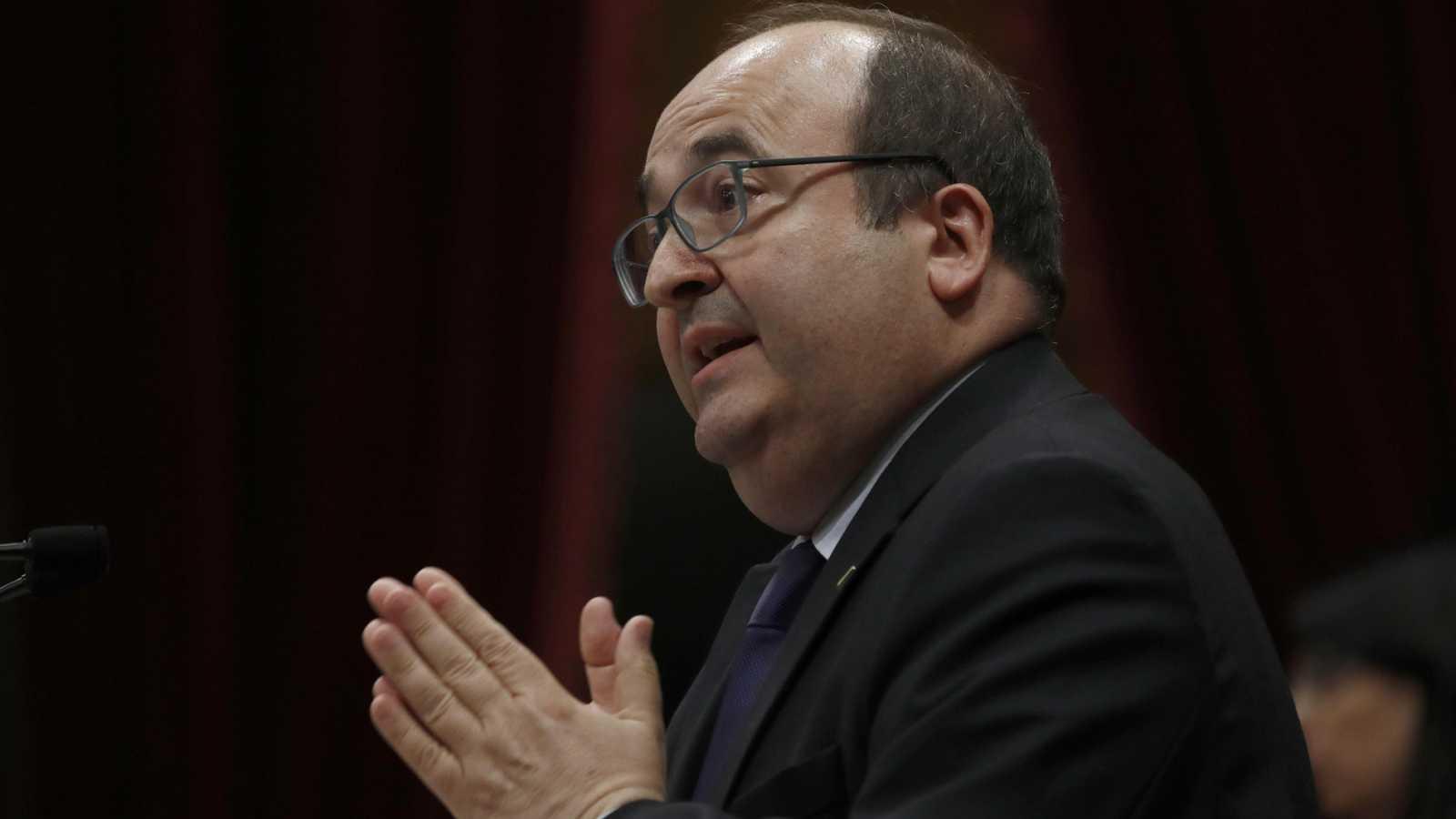 Discurso íntegro de Miquel Iceta en el debate de investidura de Quim Torra
