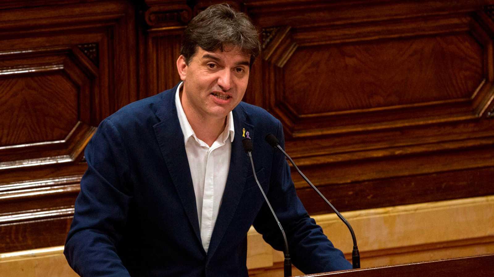 Discurso íntegro de Sergi Sabrià (ERC) en el debate de investidura de Quim Torra