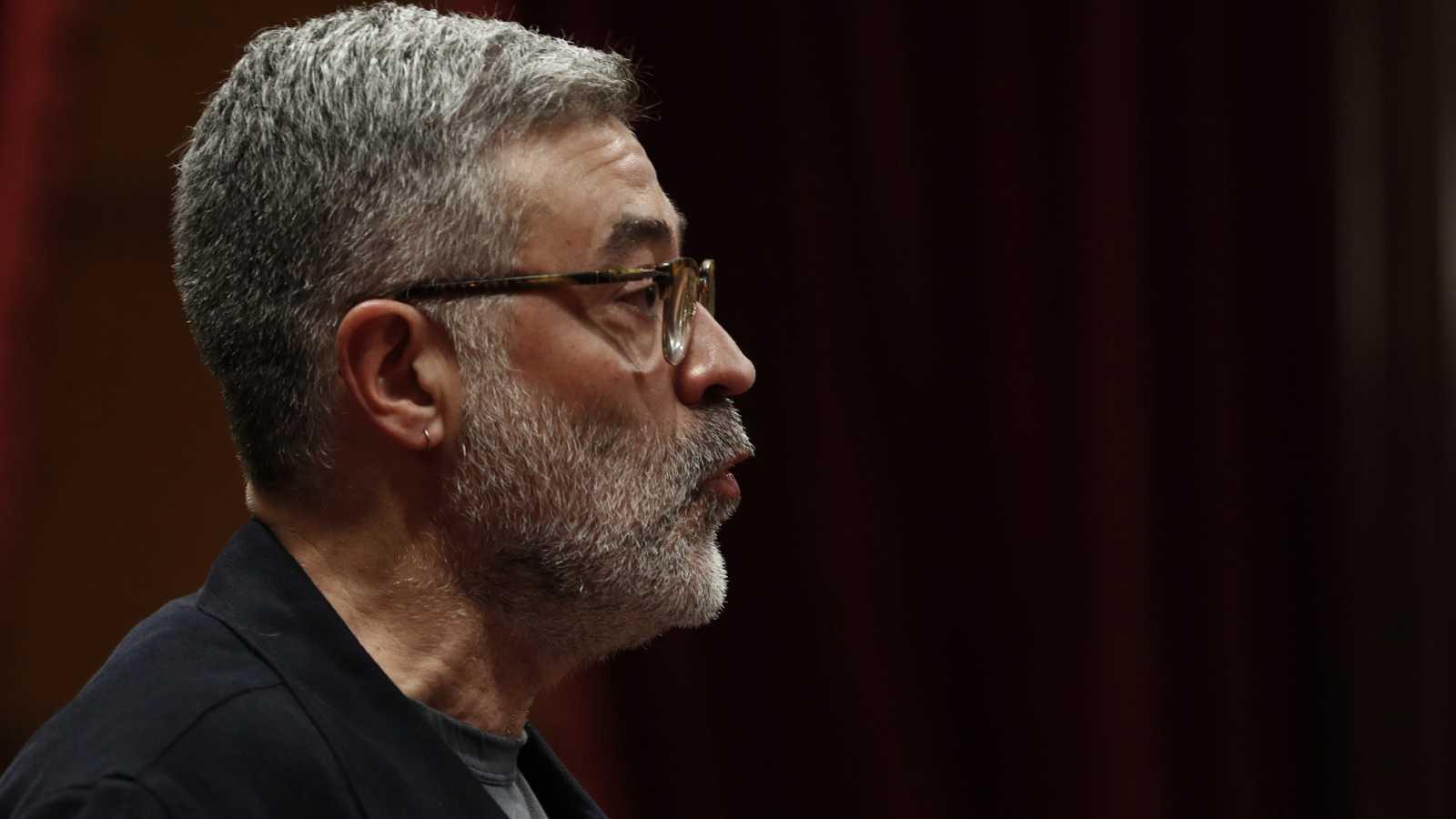 Discurso íntegro de Carles Riera en el debate de investidura de Quim Torra