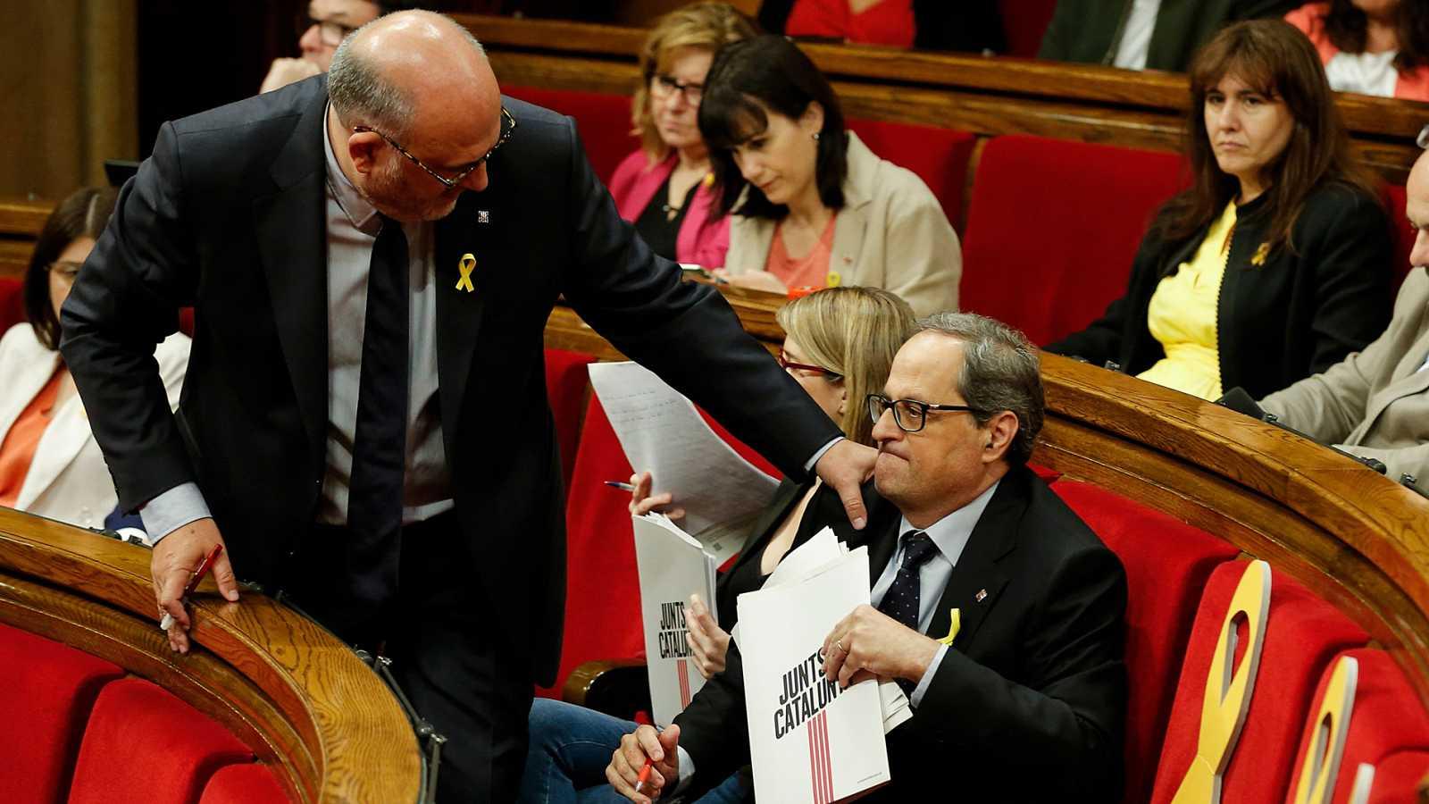 Discurso íntegro de Eduard Pujol en el debate de investidura de Quim Torra