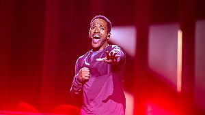 "Eurovisión - Austria: Cesár Sampson canta ""Nobody but you"" en la final de Eurovisión 2018"