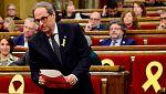 Torra afirma que recuperará las 16 leyes suspendidas por el Constitucional