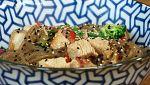 Torres en la cocina - Fideos de boniato con pavo