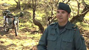 Antonio Cruz, cabo 1ª patrulla del SEPRONA