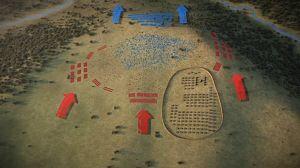 La batalla de Baécula
