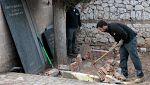 Entregan a sus familias los restos de 22 víctimas del franquismo exhumadas en Guadalajara