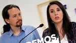 """Iglesias: """"Las bases decidirán si debemos seguir siendo secretario general y portavoz parlamentaria y si seguimos siendo diputados"""""""