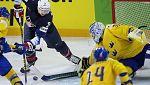 Hockey Hielo - Campeonato del Mundo. 1ª Semifinal: Suecia - Estados Unidos