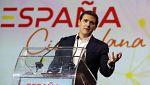 Albert Rivera presenta una plataforma para sumar apoyos a la unidad de España