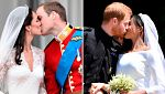 Las bodas de William y Harry ¿iguales?