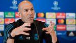 """Zidane no descarta poner a la BBC, porque """"son los mejores con diferencia"""""""
