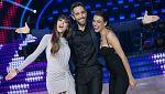 """Bailando con las estrellas - Aitana War enseñan a Roberto el baile de """"Lo malo"""""""