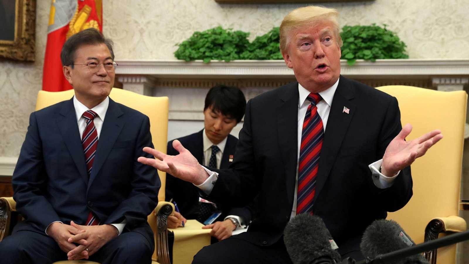 Trump dice que su cita con Kim Jong-un podría retrasarse de la fecha prevista