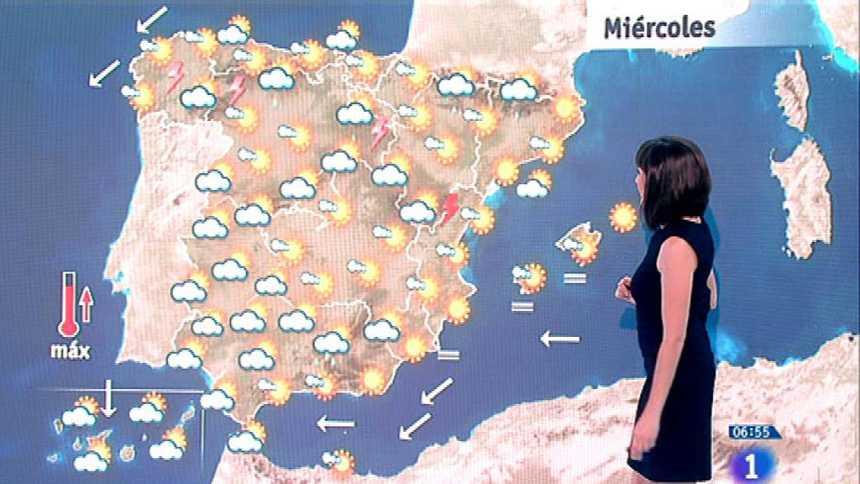 Este miércoles habrá lluvias fuertes en Galicia, Cantabria, Andalucía y Extremadura