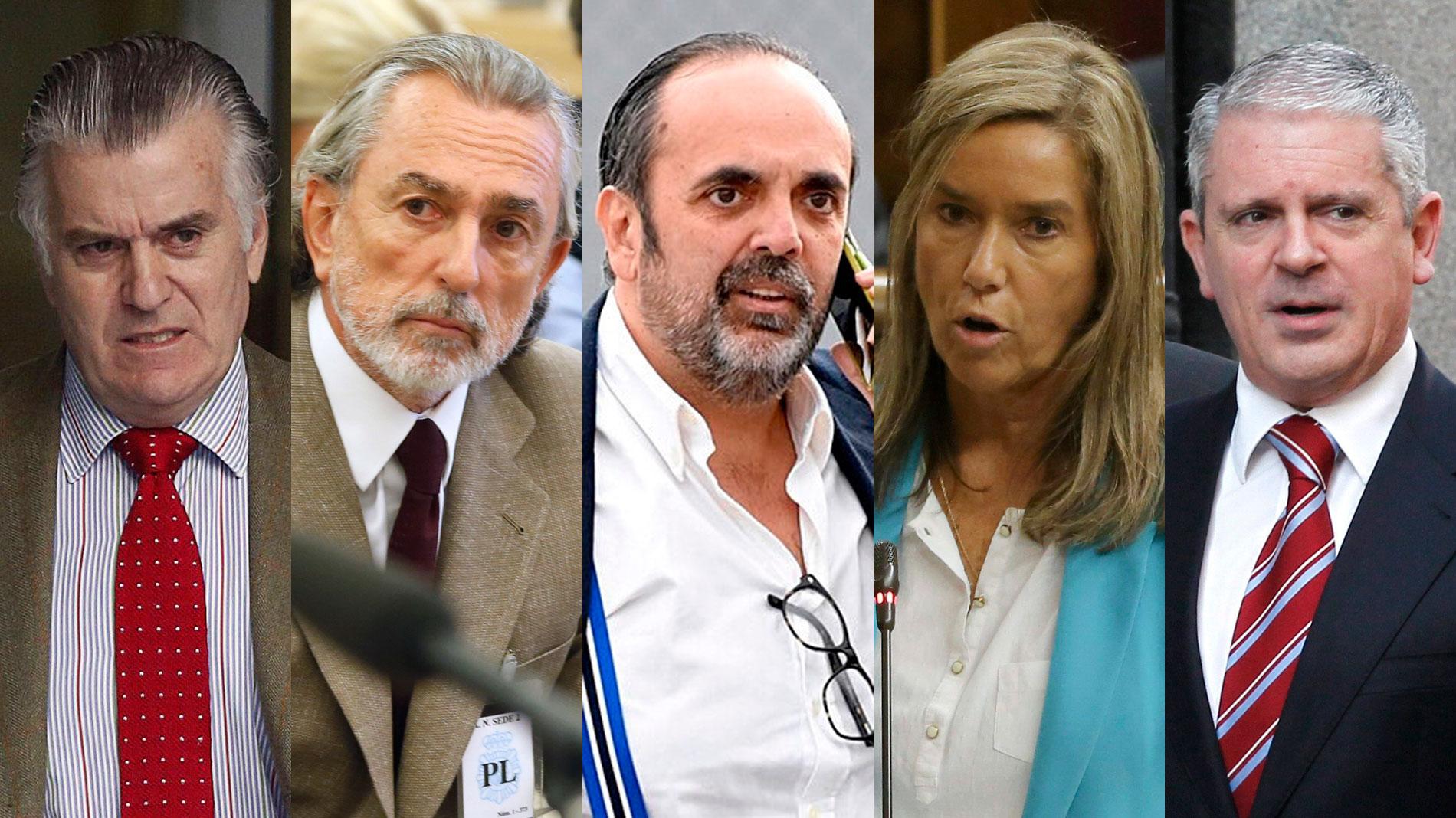 Bárcenas, Correa y el PP, condenados en la pieza principal del caso Gürtel