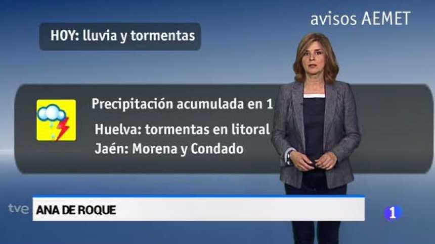 El tiempo en Andalucía - 24/05/18