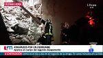 Segunda víctima en el derrumbe de un edificio en Madrid