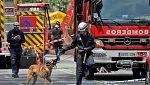 Localizado el cadáver del segundo desaparecido en el edificio derrumbado en Madrid