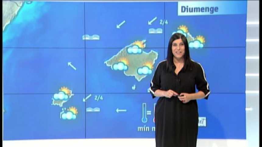 El temps a les Illes Balears - 25/05/18