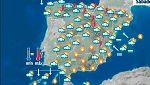 Lluvias en la mitad norte de la Península y temperaturas en ascenso
