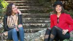 Fugitiva - ¡Así ha sido el paso por Madrid de Luisa Rubino y Arantza Ruiz!
