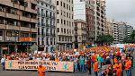 Manifestación en Valencia para reivindicar la importacia del mundo rural