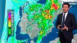 El tiempo inestable continuará presente en la Península, con fuertes chubascos y tormentas