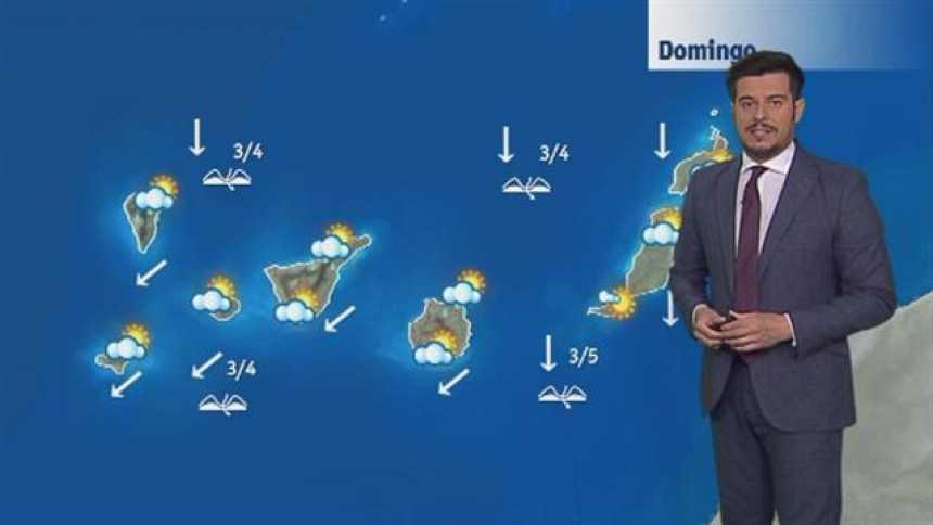 El tiempo en Canarias - 27/05/2018
