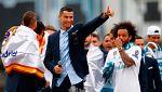 """El Madrid y el Bernabéu corean """"¡Cristiano, quédate!"""""""