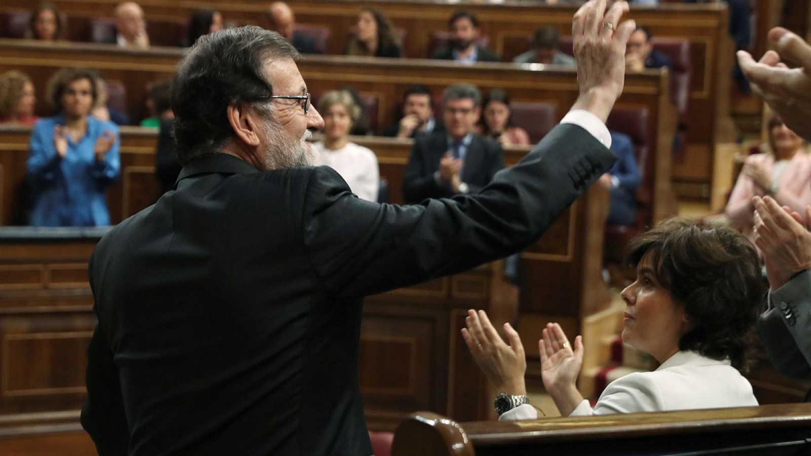 """Rajoy: """"Ha sido un honor dejar una España mejor de la que encontré"""""""