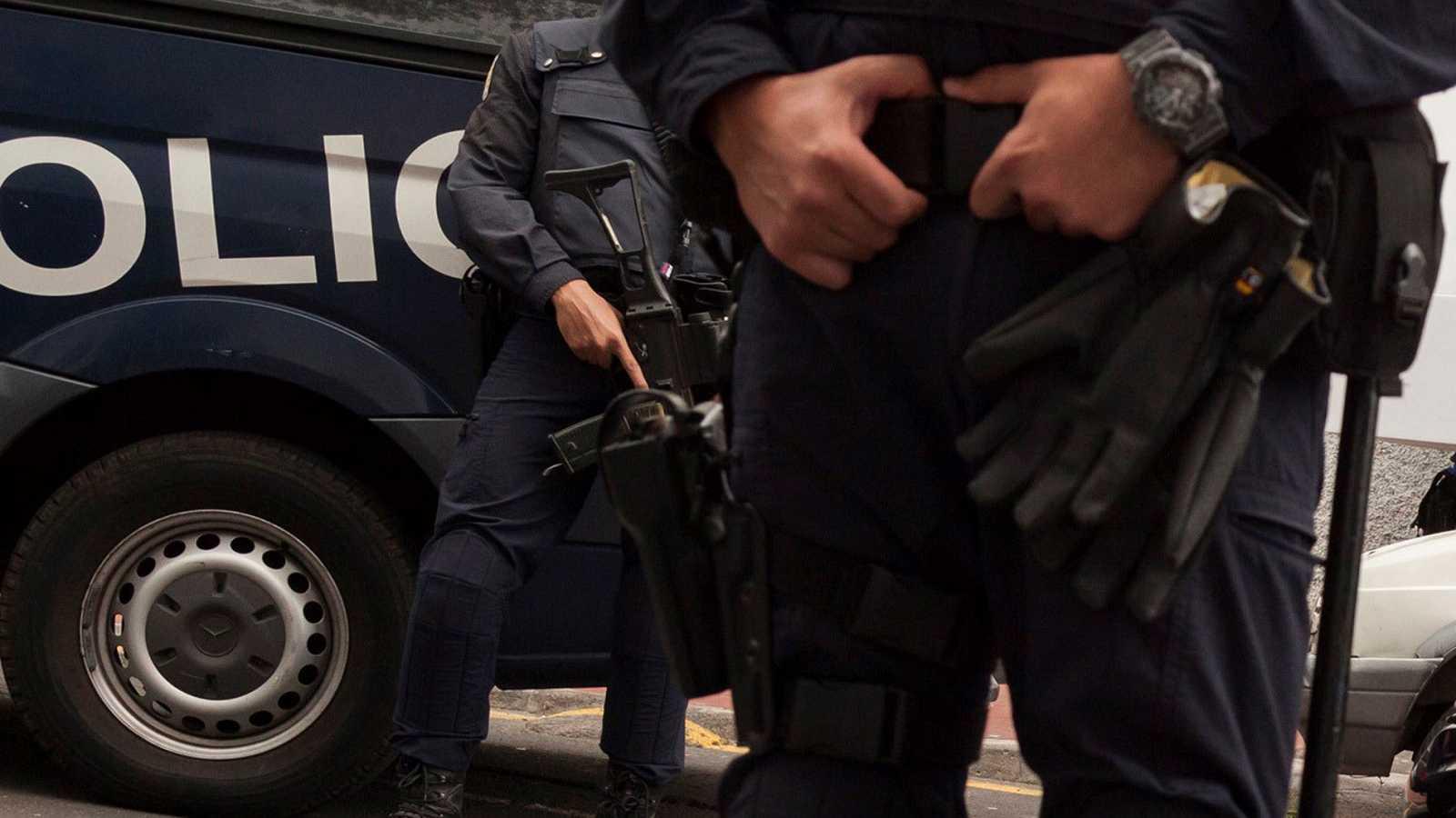 Detenidos en madrid seis aluniceros por asaltar bancos for Oficinas bancarias abiertas por la tarde