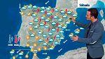 Chubascos y tormentas en gran parte de la Península
