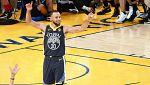 Exhibición de Curry y los Warriors se colocan 2-0 ante los Cavaliers
