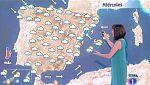 Este miércoles habrá chubascos y tormentas fuertes en gran parte de la Península