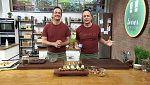 Torres en la cocina - Pasta con carabineros y trufas con miel