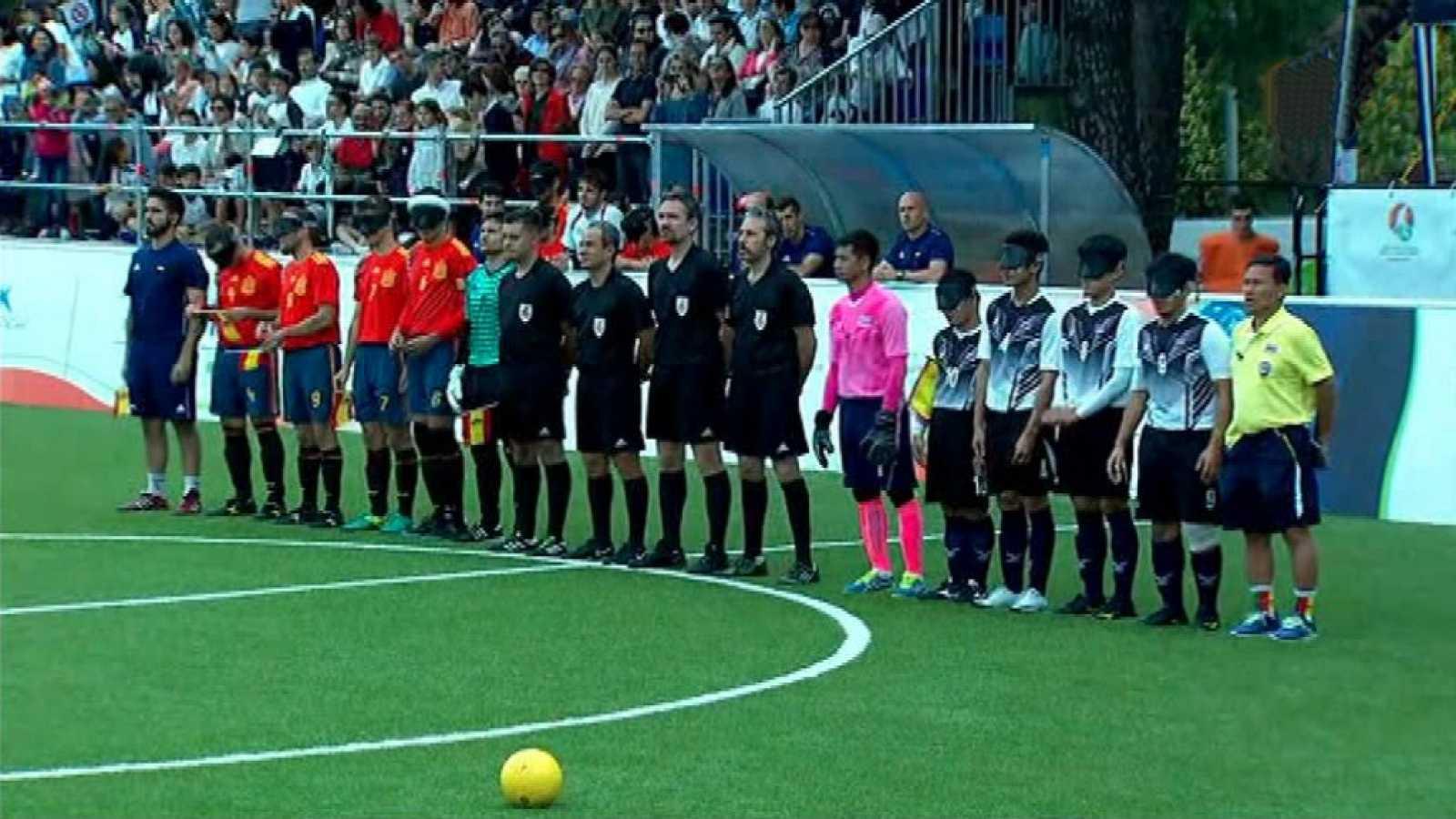 classic Para todos los públicos Fútbol para Ciegos - Campeonato del Mundo  España - Tailandia c1da73f974d
